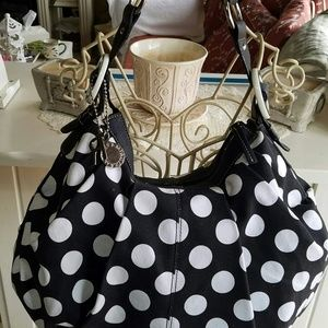 Handbags - Polka dot handbag